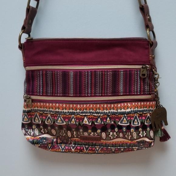 8680816bb Sakroots Bags | Coated Canvas Crossbody Bag Nwot | Poshmark